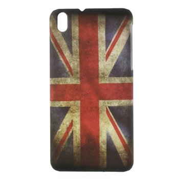 Billede af HTC Desire 816 inCover Plastik Cover - Union Jack