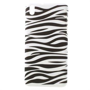 Billede af HTC Desire 816 inCover Plastik Cover - Zebra