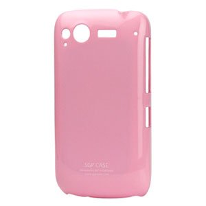 Image of HTC Desire S Plastik cover fra inCover - pink blank