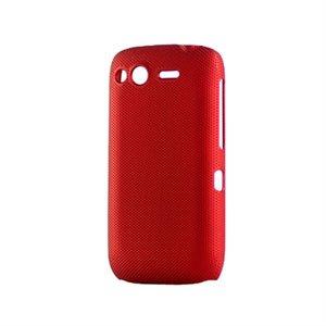Image of HTC Desire S Plastik cover fra inCover - rød
