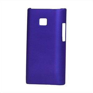 Image of LG Optimus L3 Plastik cover fra inCover - blå