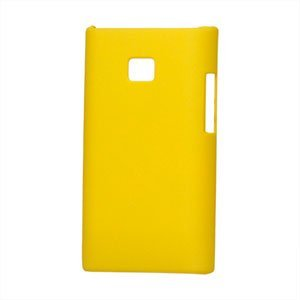 Image of LG Optimus L3 Plastik cover fra inCover - gul