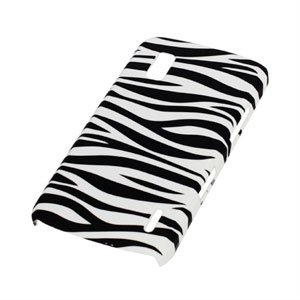 Image of Google Nexus 4 Design Plastik cover fra inCover - Zebra