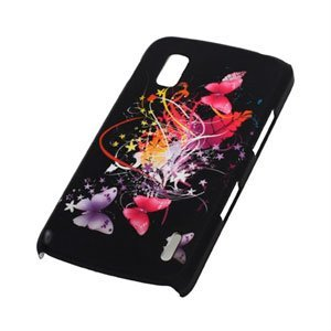 Image of Google Nexus 4 Design Plastik cover fra inCover - Butterfly Stars