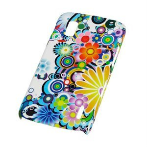 Google Nexus 4 Design Plastik cover fra inCover - Flower Power