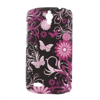 Billede af Huawei Ascend G610 inCover Design Plastik Cover - Butterfly Flowers