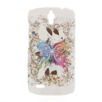 Billede af Huawei Ascend G610 inCover Design Plastik Cover - White Butterfly