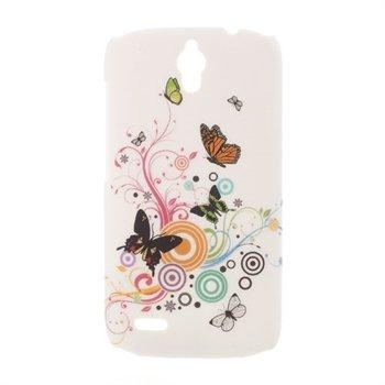 Billede af Huawei Ascend G610 inCover Design Plastik Cover - Vivid Butterfly