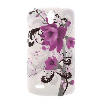 Billede af Huawei Ascend G610 inCover Design Plastik Cover - Lotus Flower