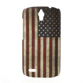 Billede af Huawei Ascend G610 inCover Design Plastik Cover - Stars & Stripes
