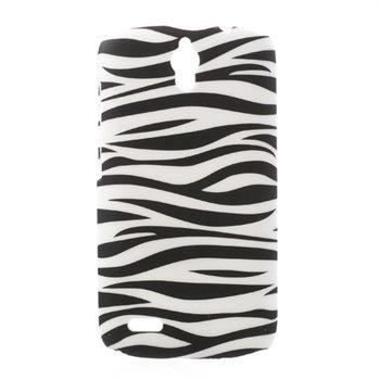 Billede af Huawei Ascend G610 inCover Design Plastik Cover - Zebra