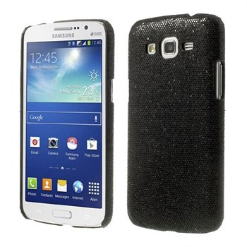 Billede af Samsung Galaxy Grand 2 inCover Design Plastik Cover - Sort Glitter