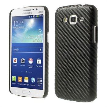 Billede af Samsung Galaxy Grand 2 inCover Design Plastik Cover - Sort Carbon
