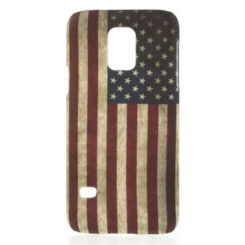 Billede af Samsung Galaxy S5 Mini inCover Design Plastik Cover - Stars & Stripes
