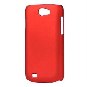 Billede af Samsung Galaxy W Plastik cover fra inCover - rød