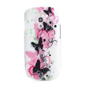 Image of   Samsung Galaxy S3 Mini Design Plastik cover fra inCover - Butterflies