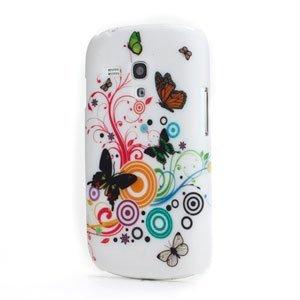 Billede af Samsung Galaxy S3 Mini Design Plastik cover fra inCover - Butterfly Circle