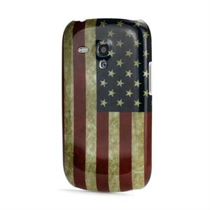 Image of   Samsung Galaxy S3 Mini Design Plastik cover fra inCover - Stars and Stripes