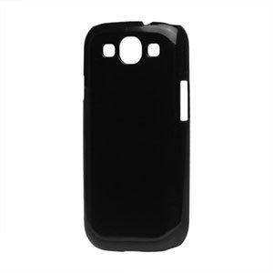 Billede af Samsung Galaxy S3 Plastik cover fra inCover - blank sort