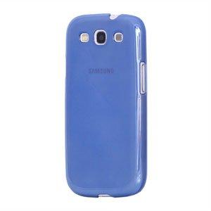 Billede af Samsung Galaxy S3 Plastik cover fra inCover - glossy blå