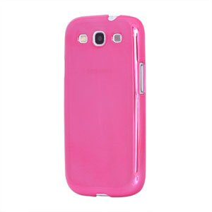 Billede af Samsung Galaxy S3 Plastik cover fra inCover - glossy rosa