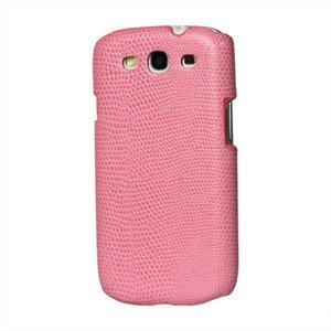 Billede af Samsung Galaxy S3 Design Plastik cover fra inCover - Snake pink