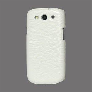 Billede af Samsung Galaxy S3 Design Plastik cover fra inCover - Snake hvid