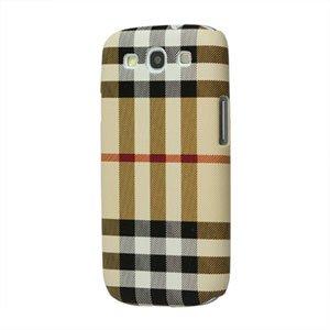 Billede af Samsung Galaxy S3 Design Plastik cover fra inCover - Grid