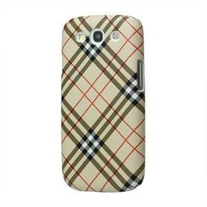 Billede af Samsung Galaxy S3 Design Plastik cover fra inCover - Check creme