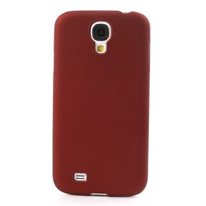 Image of   Samsung Galaxy S4 inCover Mesh Plastik Cover - Rød