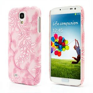 Image of   Samsung Galaxy S4 inCover Design Plastik Cover - Pink Grapevine Floral