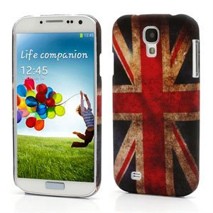 Image of   Samsung Galaxy S4 inCover Design Plastik Cover - Retro Union Jack