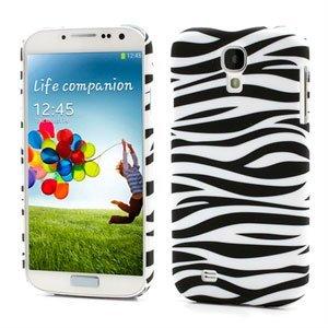 Image of   Samsung Galaxy S4 inCover Design Plastik Cover - Zebra