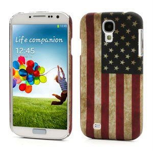 Image of   Samsung Galaxy S4 inCover Design Plastik Cover - Retro United States