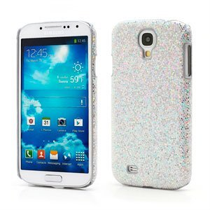 Image of   Samsung Galaxy S4 inCover Bling Design Plastik Cover - Sølv