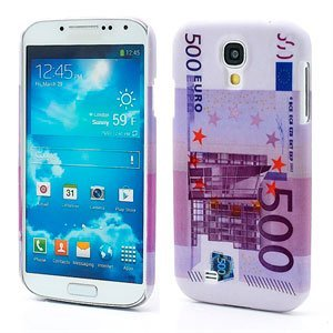 Image of   Samsung Galaxy S4 inCover Design Plastik Cover - 500 Euro