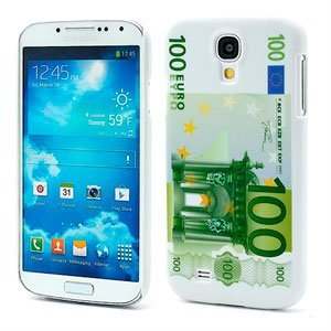 Image of   Samsung Galaxy S4 inCover Design Plastik Cover - 100 Euro