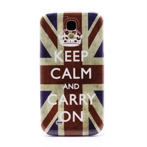 Image of   Samsung Galaxy S4 inCover Design Plastik Cover - Union Jack Keep Calm