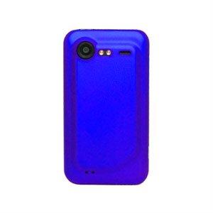 Image of HTC Incredible S Plastik cover fra inCover - blå