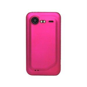 Image of HTC Incredible S Plastik cover fra inCover - rosa