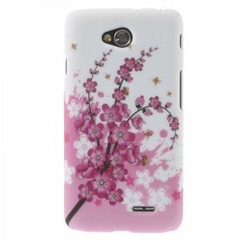 Image of LG L70 inCover Design Plastik Cover - Plum Blossom