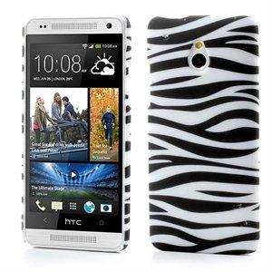 Billede af HTC One mini inCover Design Plastik Cover - Zebra