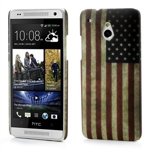 Billede af HTC One mini inCover Design Plastik Cover - Stars And Stripes