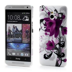 Billede af HTC One mini inCover Design Plastik Cover - Lotus Flower