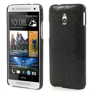 Billede af HTC One mini inCover Design Plastik Cover - Sort Glitter