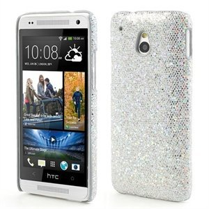 Image of HTC One mini inCover Design Plastik Cover - Sølv Glitter