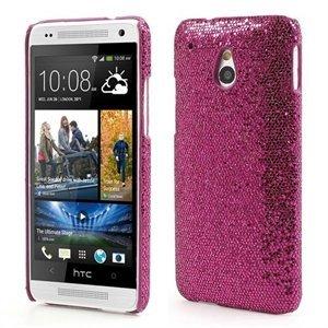 Billede af HTC One mini inCover Design Plastik Cover - Rosa Glitter