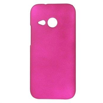 HTC One Mini 2 inCover Plastik Cover - Rosa
