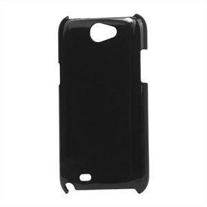 Billede af Samsung Galaxy Note 2 Plastik cover fra inCover - klar sort