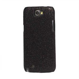 Billede af Samsung Galaxy Note 2 Design Plastik cover fra inCover - bling sort